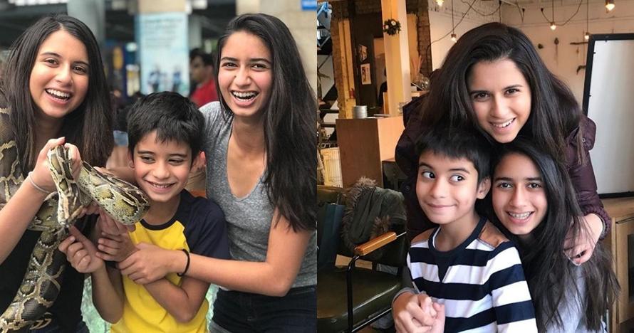 10 Pesona duo putri produser hits Manoj Punjabi, cantiknya alami