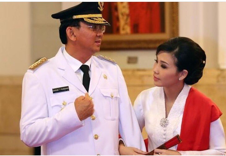 4 Kisah romantis dalam perjalanan cinta Ahok dan Veronica Tan