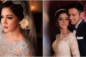 7 Pesona Biby Alraen di hari pernikahannya, cantik elegan bak princess