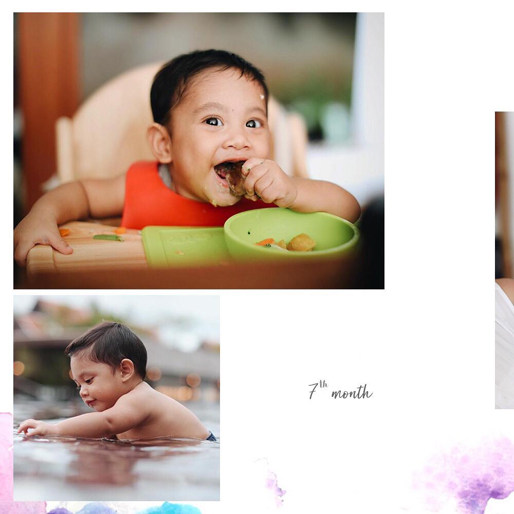 Andien rayakan ultah anak © 2018 brilio.net