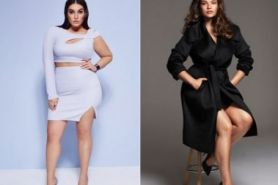 6 Inspirasi outfit ala model plus size Ashley Graham