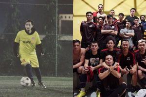 Sama-sama hobi main bola, 7 artis ini satu klub dengan Rifky Balweel