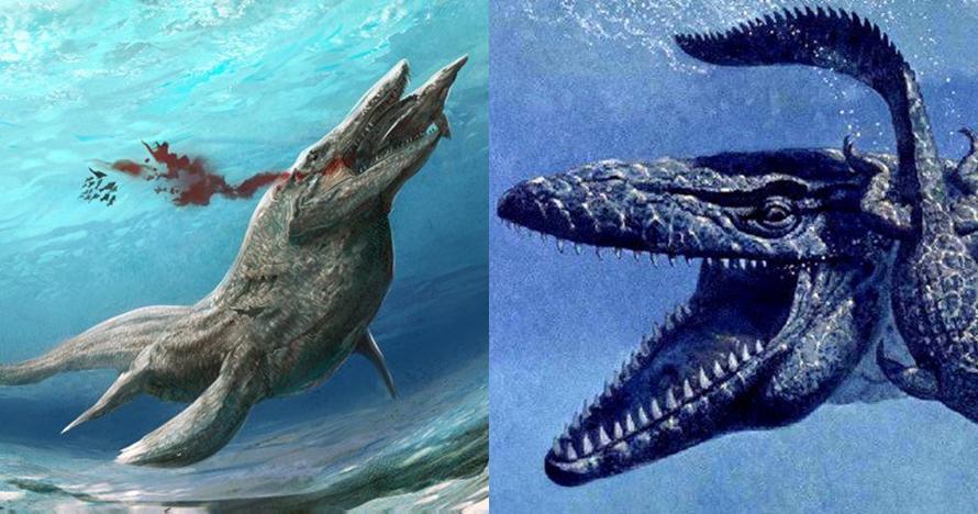 10 Potret penampakan monster laut purba ini dijamin bikin merinding