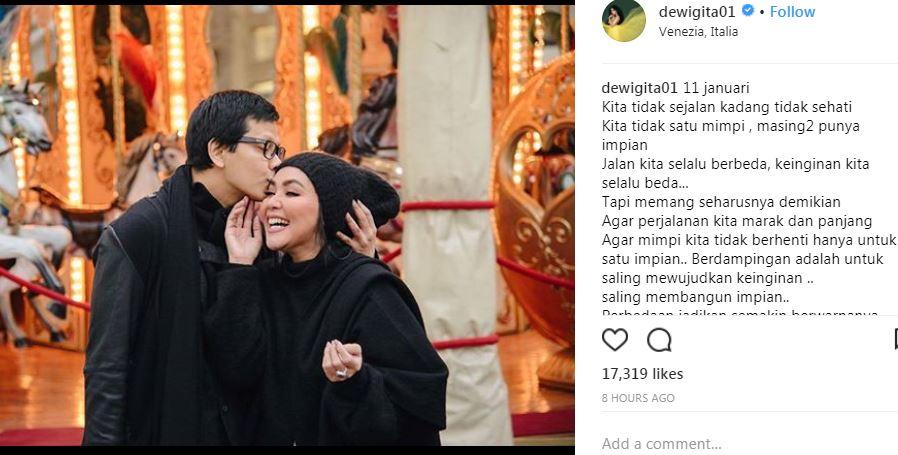 Armand Maulana & Dewi Gita © 2018 brilio.net hira