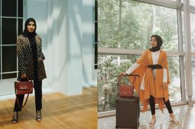 Sama-sama desainer, ini beda gaya outfit Zaskia Sungkar & Jenahara