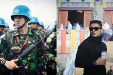 10 Pesona Dhuha Fatih, anggota TNI ganteng yang doyan traveling