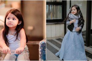 10 Potret lucunya Aaisyah, aktris cilik yang imutnya bak boneka