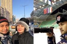 10 Momen keseruan Anjasmara bersama keluarga saat liburan ke China