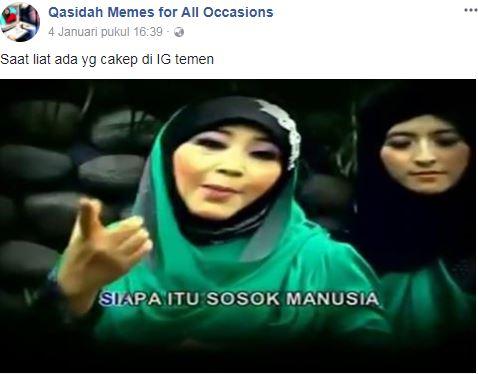 10 Meme \u002639;cocoklogi lirik qasidah\u002639; ini lucunya bakal bikin tawamu