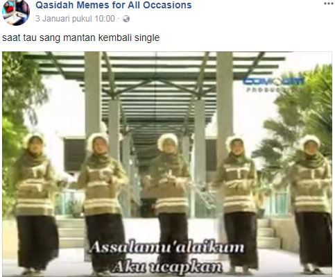 10 Meme 'cocoklogi lirik Qasidah'  © 2018 brilio.net