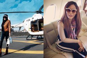 Syahrini & Inul posting naik jet pribadi, warganet sebut saling sindir