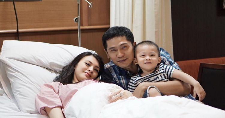 6 Momen bahagia saat Donita melahirkan putra kedua, penuh haru