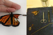 Sayap kupu-kupu ini patah, tapi usai dioperasi bisa terbang lagi