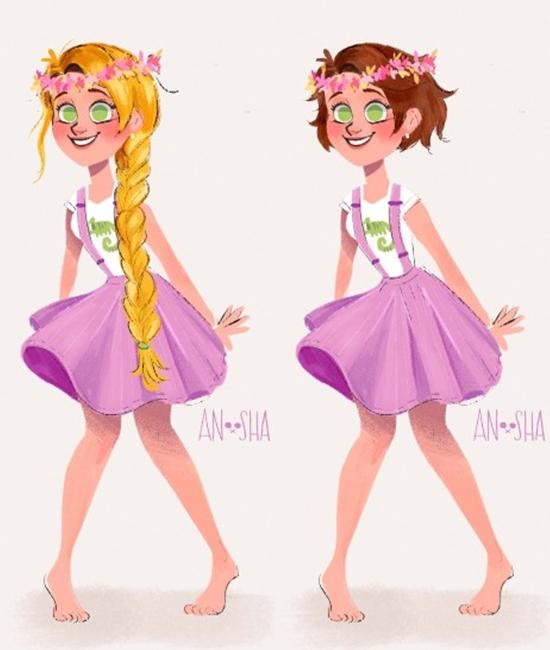 10 Ilustrasi Disney princess © 2018 brilio.net