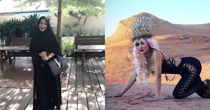 Beda gaya Cynthiara Alona, dari terbuka, berhijab & seksi bak barbie