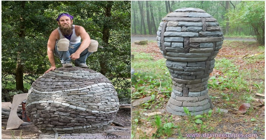 Tanpa semen dan lem, cara bikin 12 patung batu ini bikin kamu terpukau