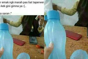 Kisah anak dengan botol rusak ini bikin ngakak, disuruh nggak pulang