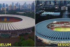10 Foto transformasi SUGBK, tak kalah megah dari stadion terbaik Eropa