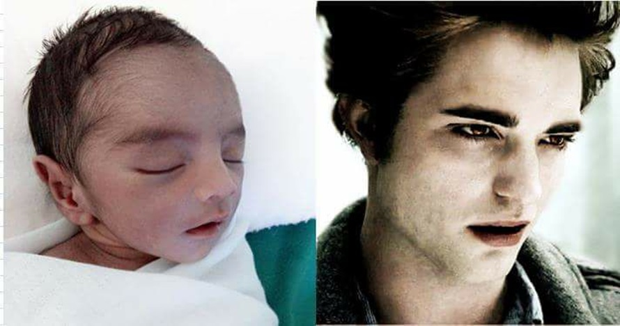 Usai baby Arsya, kini heboh bayi ganteng yang mirip Robert Pattinson