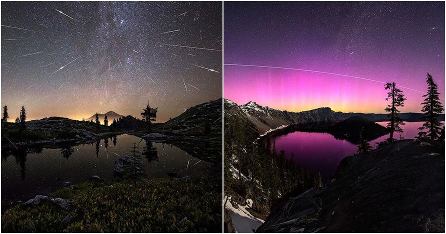Bukan editan, 14 foto langit malam bertabur bintang ini bikin takjub