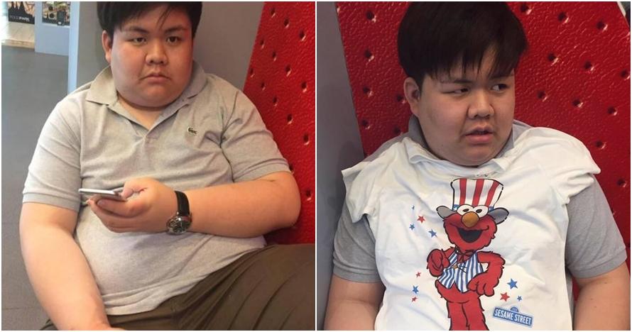 Patah hati cinta ditolak, cowok ini sukses turunkan berat badan 75 kg