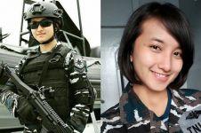 10 Pesona Dina Abharina, TNI cantik bikin para cowok pengen 'ditembak'
