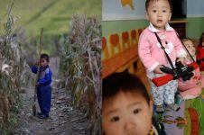 10 Foto mirisnya anak-anak Korea Utara, si kaya dan si miskin dibedain