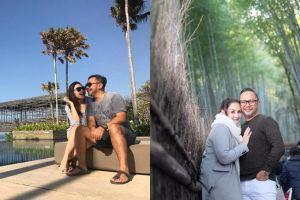 10 Potret kemesraan Mona Ratuliu dan Indra Brasco, kayak masih pacaran