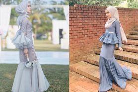 Bak putri duyung, ini 7 gaya mermaid dress buat hijabers