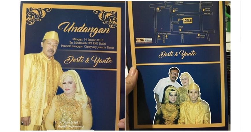 11 Undangan pernikahan ini bikin ngakak, cuma ada di Indonesia nih