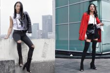 7 Inspirasi mix & match sepatu boots ala fashion stylist Jovi Adhiguna