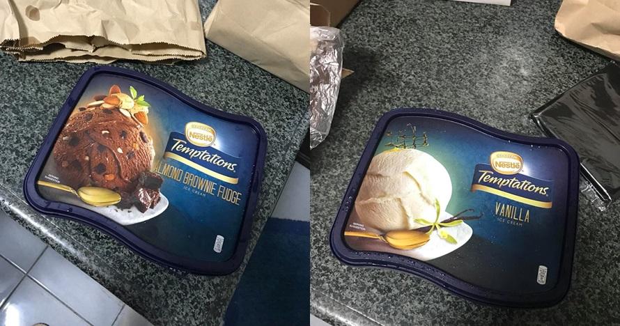 Niatnya beli es krim, keluarga ini malah mendapat hal tak terduga
