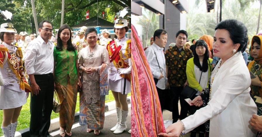 Gaya 5 istri menteri kabinet kerja Jokowi, selalu cantik memesona