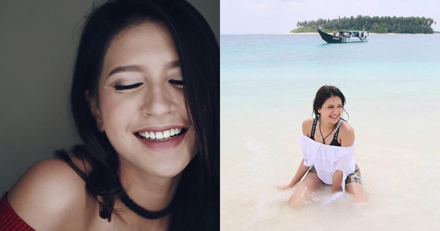 10 Pose manja Sere Kalina, co-host Indonesian Idol yang curi perhatian