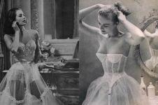Begini penampakan 10 model lingerie yang dikenakan wanita zaman dulu