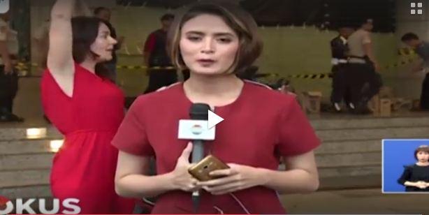 5 Momen kocak saat siaran breaking news, ada yang pamer ketek