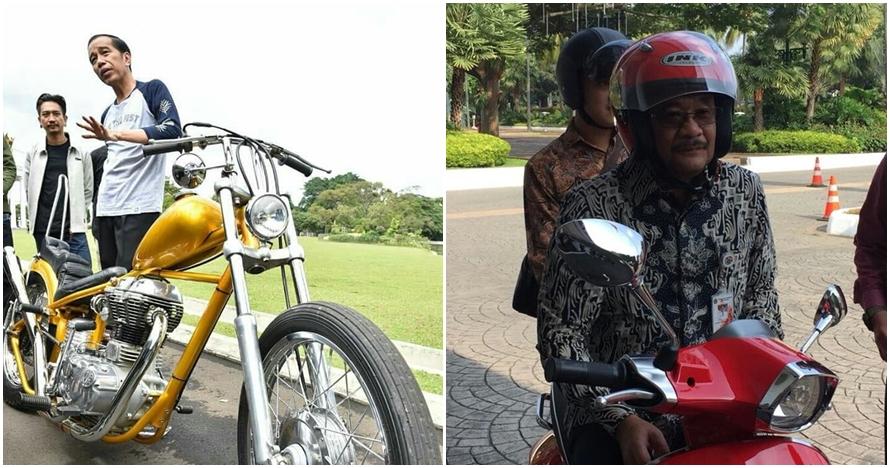 5 Politisi ini tak gengsi naik motor di jalanan, gayanya kece abis