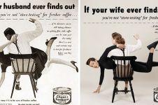 Fotografer tukar peran gender di 10 iklan jadul ini, bikin takjub