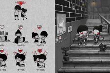 15 Ilustrasi tunjukkan cara jadi sosok romantis dengan aksi sederhana