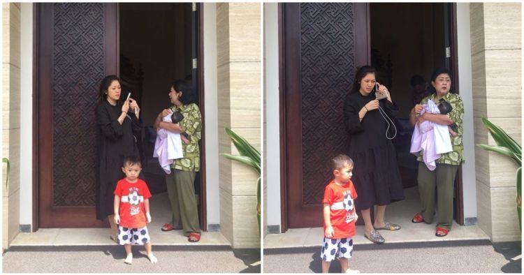 Gempa keras guncang Jakarta, Ani Yudhoyono posting foto kepanikan