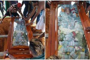 Kisah pria isi uang Rp 100 juta di peti mati ayahnya ini mengharukan
