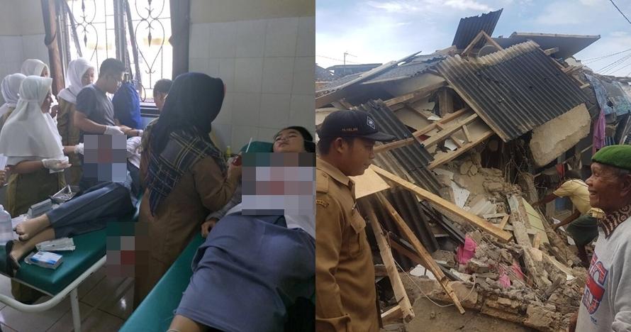 5 Dampak gempa guncang Banten & sekitarnya, banyak bangunan rusak