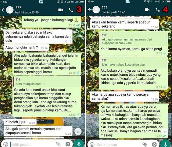 cerita driver ojol dapet penumpang mantan © 2018 instagram