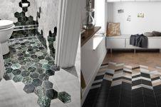 10 Kreasi motif lantai saling tabrak ini unik dan kreatif