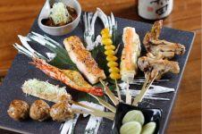 Robatayaki, makanan tradisional Jepang yang mirip sate di Indonesia