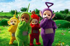 Pemeran 'Tinky Winky' Teletubbies meninggal dunia