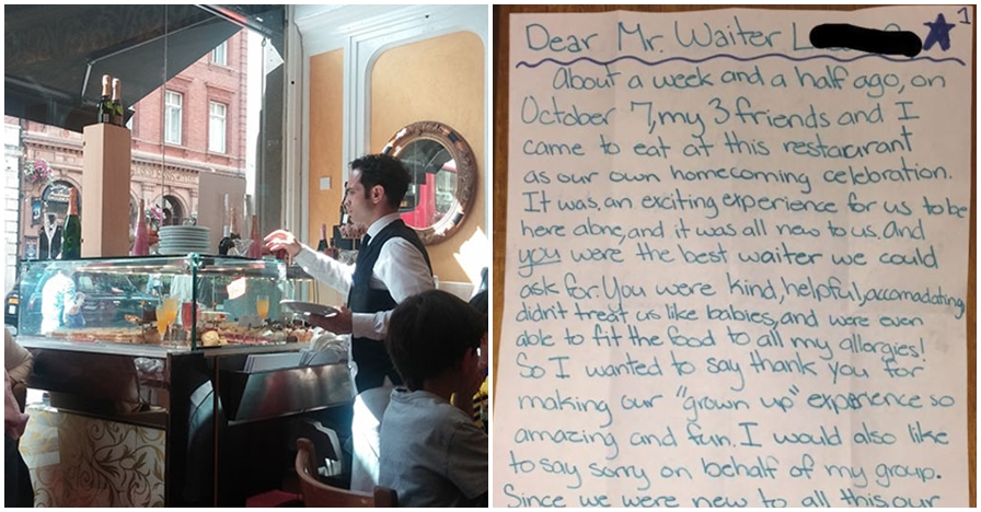 Tidak diberi uang tip layak, kisah pelayan restoran ini bikin haru
