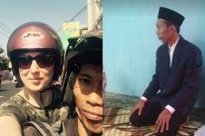 Kisah bule kebingungan ditolong warga di Yogyakarta ini mengharukan