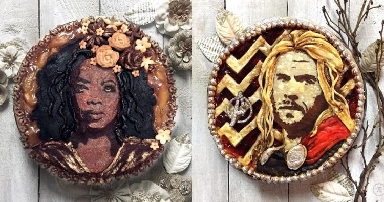 10 Kue pie ini berwujud wajah seleb, hasilnya sungguh menakjubkan