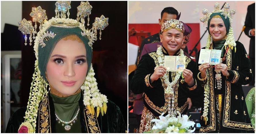 8 Foto pernikahan Gubernur Kalteng & Yulistra Ivo, beda usia 19 tahun